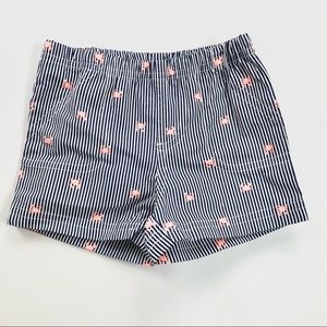 """🌻$2🌻 Striped """"crabs"""" baby shorts never worn"""